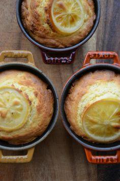 ストウブで「レモンコンフィとクリチのマフィン」 | ジュンジュンの「おいしいモン」