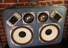 Case of Bass – Portable Retro Suitcase Party Machines