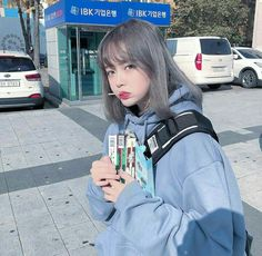 * ✲ ゚ * Hey hey hey! * ✲ ゚ * Hello to you little fan of BTS who goes through … Fanfiction # amreading # books # wattpad Mode Ulzzang, Ulzzang Korean Girl, Cute Korean Girl, Uzzlang Girl, Korean Aesthetic, Aesthetic Hair, Girl Short Hair, Asia Girl, Kawaii Girl