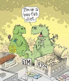 Humor In Dites & Fitness The Flying McCoys. Glenn and Gary McCoy. How to lose weight fast ? Discovred by : MediaMed Funny Cartoons, Funny Comics, Funny Jokes, Hilarious, Funny Halloween Memes, Food Jokes, Diet Humor, Gym Humor, Fitness Humor