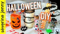 The only bad Halloween craft project is the Halloween craft project that takes too long. Diy Deco Halloween, Halloween Room Decor, Funny Halloween Costumes, Diy Halloween Decorations, Spirit Halloween, Halloween Crafts, Halloween Party, Decor Crafts, Fun Crafts