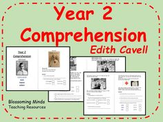 Year 2 SATs style comprehension - Edith Cavell