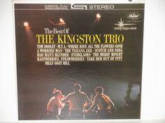 The Best of The Kingston Trio 60s Pop Folk by notesfromtheattic