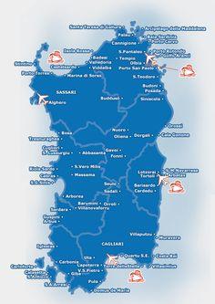 Cerdeña (Italia): distancias por carretera (kilometros/tiempo de conducción) - Foro Italia - LosViajeros Sardinia, Summer Travel, Day Trips, Trip Planning, Places To Visit, Boat, How To Plan, World, Passport