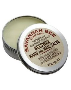 """Savannah Bee Hand and Nail Salve, $9.50 from Savannah Bee 