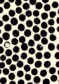 Black and white polka dots Surface Pattern Design, Pattern Art, Geometry Pattern, Circular Pattern, Pretty Patterns, Shape Patterns, Textile Patterns, Textile Prints, Pattern Illustration