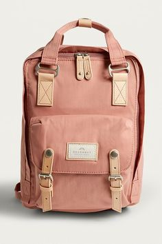 Shop Doughnut Macaroon Pink Backpack at Urban Outfitters today. Cute Backpacks For School, Trendy Backpacks, Backpacks For College, Cute Backpacks For Women, Best Backpacks, Bags For College, Pink Backpacks, Leather Backpacks, Leather Bags