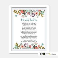 Teacher appreciation print Printable by KLprintsandprintable Teacher Appreciation Poems, Teacher Poems, Thank You Poems For Teachers, Teacher Thank You, Daycare Gifts, School Gifts, School Stuff, Nursery Teacher, Silly Songs