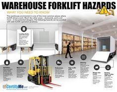 Warehouse Forklift Hazards Infographic