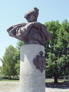 """Пам""""ятник Богдану Хмельницькому в Суботові"""