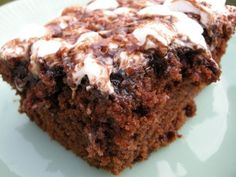Mama's Mississippi Mud Cake!  I LOVE anything that Christy Jordan from Southern Plate makes.
