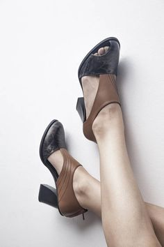 MARCEL - Black/Brown - FREE SHIPPING Handmade Shoes with Summer Collection 2018