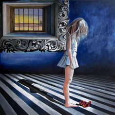 "GaeTano and Valentina, ""K"" IL SOLE ANCHE DI NOTTE/""K"" the sun even at night, © 2013, acrylic on canvas, 100 x 100 cm.  #pittura #art #painting #arts #GaeTanoAndValentina #AcrylicOnCanvas #scenographTwoArt #SCENOGRAPH2ART #GaeTanoeValentina #visualart #canvas #sem #acrylic #peinture #ceruleo #dipinti #monza #italy"