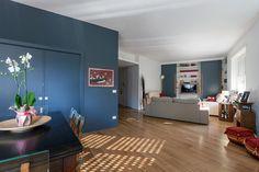 #interior #dining&livingroom #modern #woodenfloor