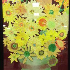 adult Bulletin Boards | Sunflowers DIY art | Bulletin Boards for Adults