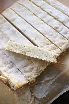 lemon shortbread- gluten free