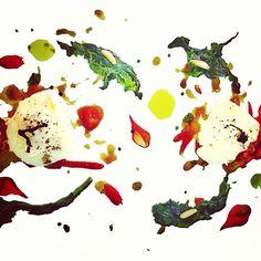 Codfish cheeks...art attack! Chef Silvia Daddi