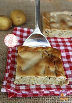 TORTA BACIOCCA ricetta torta salata ligure con patate
