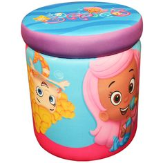 Nickelodeon Bubble Guppies That's Silly Storage Ottoman: Toddler : Walmart.com
