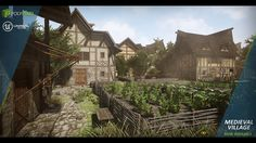 Fantasy Art Medieval Village | Medieval Village by PolyPixel in Environments - UE4 Marketplace