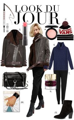 Look Du Jour: Sir! Black Ankle Pants, Black Jogger Pants, Ankle Boots, Mario Testino, Rebecca Minkoff, Casual Winter Outfits, Outfit Winter, Jeans With Heels, Pencil Skirts