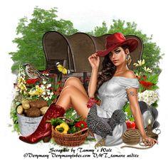 TAMMYS WELT: PTU Scrap Kit Country Summer