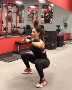 "10.4k Likes, 318 Comments - Alexia Clark (@alexia_clark) on Instagram: ""Kettlebell Killa 1. 15 taps on each side 2. 10 reps each 3. 10 reps each 4. 15 reps each arm 3…"""