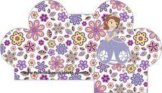 caixinha coração Princesinha Sofia da Disney