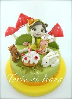 THE FAIRY PUMPKIN - by tortediivana @ CakesDecor.com - cake decorating website