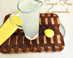 This sugar free lemonade is super easy to make and only contains 3 ingredients, lemons, sparkling water and stevia. The best part about this lemonade is it only has 9 calories and has 0g of sugar. Recipe on my blog: http://www.fattoglam.com/sugar-free-lemonade-recipe/ #sugarfreelemonade #sugarfreedrink #lemonade #sugarfree #iquitsugar