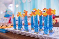 "Duas Marias ""Atelier de Eventos"" Galeria Fiesta Theme Party, Birthday Party Themes, 2nd Birthday, Baby Sketch, Twins 1st Birthdays, Shark Party, Under The Sea Party, Baby Shark, Party Supplies"