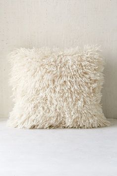 Urban Outfitters Assembly Home Shaggy Sweater Pillow on Shopstyle.