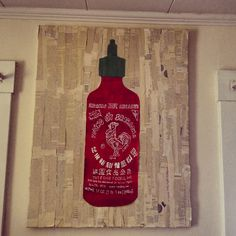 Do it yourself sriracha art!