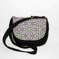 edfdc53024d03 Crossbody bag ethno Hindu Orient style   orient pattern   mandala pattern   crossbody ethno purse. Torebka ...