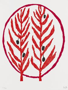 Louise Bourgeois (French-American, 1911 - 2010) Untitled (Leave), 2004