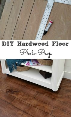 furniture photography Easy DIY Photo Prop Hardwood Floor for furniture staging or photography. Paint, stain, sharpie, sooo easy to do. Fake Hardwood Floors, Hardwood Floor Colors, Plywood Floors, Staging Furniture, Trendy Furniture, Furniture Removal, Furniture Redo, Furniture Stores, Painted Furniture