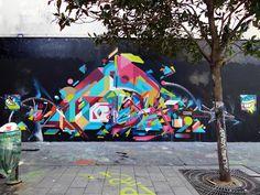 Graffuturism @ galerie Openspace, Paris