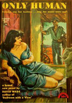 Rainbow Books # 129 - Only Human - David Wade ( Norman Daniels) - 1952.