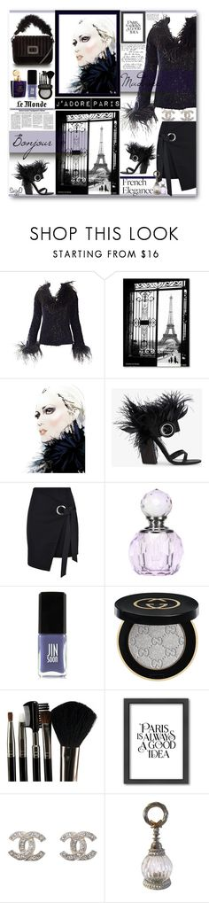 """""""PARIS IS ALWAYS A GOOD IDEA!"""" by polyvore-suzyq ❤ liked on Polyvore featuring Prada, George J. Love, Aedes De Venustas, JINsoon, Gucci, Glamour Status and Americanflat"""