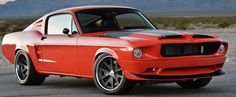 pro touring 1968 ford mustang villain by classic recreations