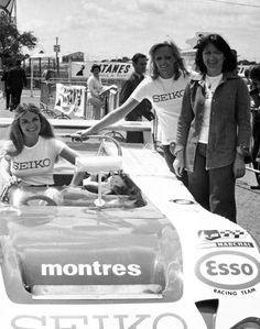 24 Hours of Le Mans - Marie Laurent (1944-2015), Christine Beckers and Yvette Fontaine