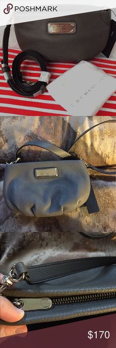 marc by marc jacobs grey crossbody brand new with tags, style M0009470 - please feel free to make an offer! [dustbag not included] Marc by Marc Jacobs Bags Crossbody Bags