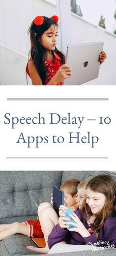 Speech Delays- 10 Apps to Help #SpeechDelays #ParentingResources #Help #AppsForKids #Apps