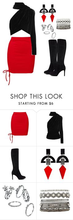 """PERF #2 DASOI"" by sabbtenn on Polyvore featuring Sans Souci, Gareth Pugh, Nine West, Toolally and Charlotte Russe"