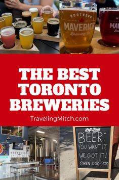 Over the years it has been a pleasure to watch the rise of independent Toronto breweries who have changed the face of craft beer in Toronto. Alright, that's enough about that. This list is derived from the input from some of my friends from the Toronto Bloggers Collective and myself. Let's talk about some fine Toronto breweries, shall we? #brewery #torontobrewery #torontobreweries #torontocraftbeer #torontobeer #craftbeer #travel #brewerytravel #craftbeertravel #traveltip #traveladvice Home Brewing Beer, Brewing Co, Ontario Travel, Toronto Travel, Canadian Travel, Beer Festival, Short Trip, Discount Travel, Best Beer