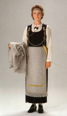 Finnish national costume | Tuukkala