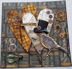 Tracy Evans: STEAMPUNK BIRD