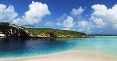 Secluded Bahamas beach