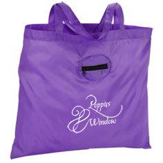 Fold up all your advertising efforts into a great promotional tote!
