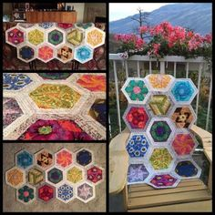 Fabric, Quilting Supplies, Quilt-Alongs and English Paper Piecing patterns Paper Piecing Patterns, Quilt Patterns, Quilting Ideas, Quilt As You Go, Traditional Fabric, Hexagon Pattern, English Paper Piecing, Mini Quilts, Machine Quilting
